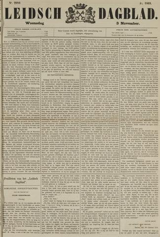 Leidsch Dagblad 1869-11-03