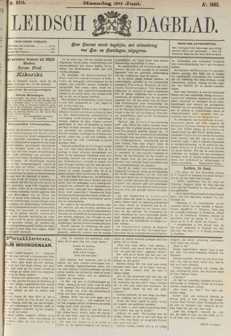 Leidsch Dagblad 1892-06-20