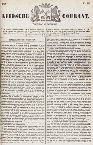 Leydse Courant 1879-11-19