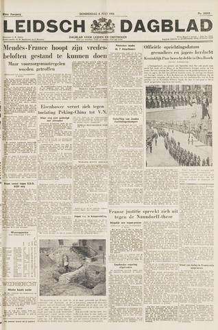 Leidsch Dagblad 1954-07-08