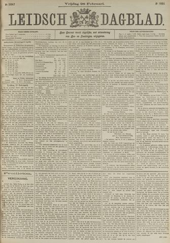 Leidsch Dagblad 1896-02-28