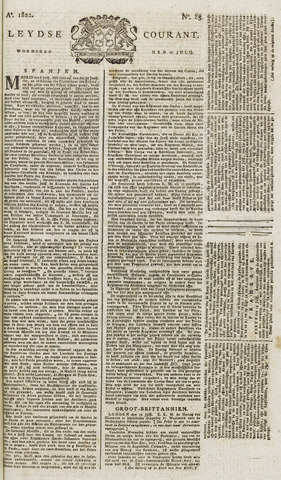 Leydse Courant 1822-07-17