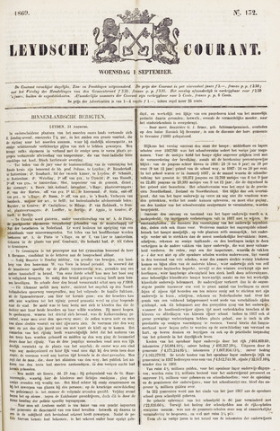 Leydse Courant 1869-09-01