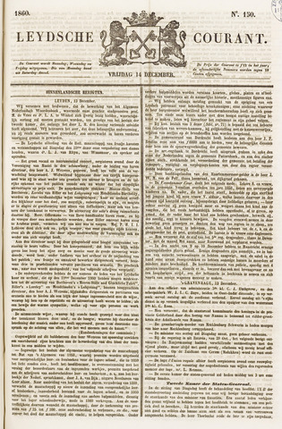 Leydse Courant 1860-12-14