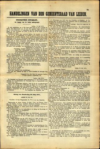 Handelingen van de Raad 1871-07-20