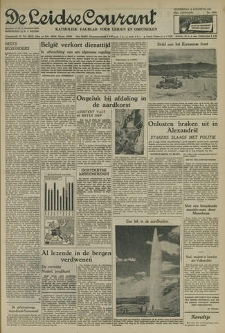 Leidse Courant 1952-08-14
