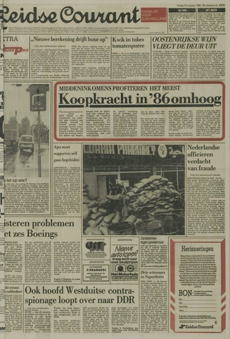 Leidse Courant 1985-08-23