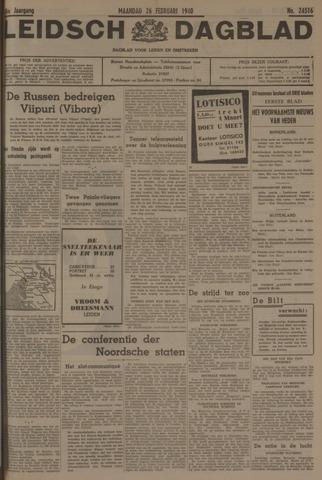 Leidsch Dagblad 1940-02-26