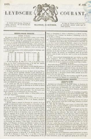Leydse Courant 1855-10-15