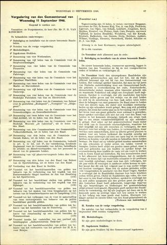 Handelingen van de Raad 1946-09-11