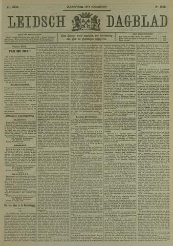 Leidsch Dagblad 1909-10-30