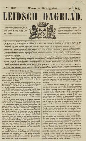 Leidsch Dagblad 1863-08-26