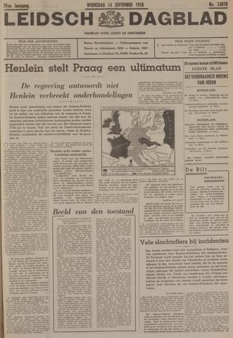 Leidsch Dagblad 1938-09-14