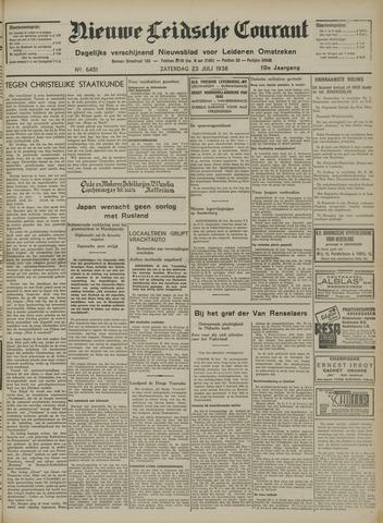 Nieuwe Leidsche Courant 1938-07-23