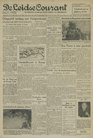 Leidse Courant 1951-10-01