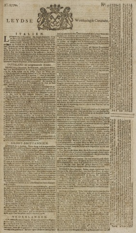 Leydse Courant 1770-01-10
