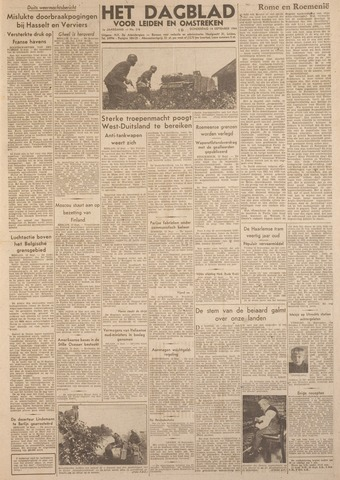 Dagblad voor Leiden en Omstreken 1944-09-14