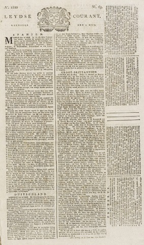 Leydse Courant 1820-05-31