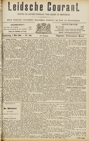 Leydse Courant 1890-05-01