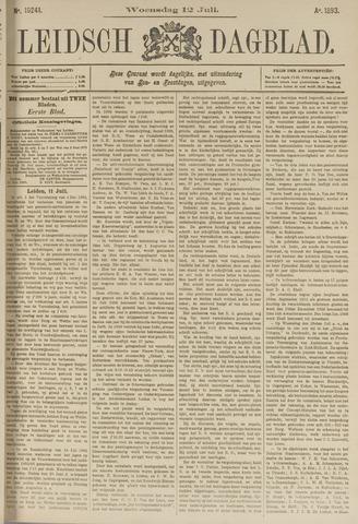 Leidsch Dagblad 1893-07-12