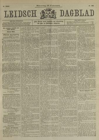 Leidsch Dagblad 1911-02-18