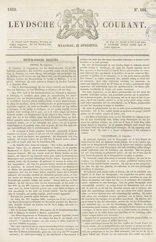 Leydse Courant 1852-08-23