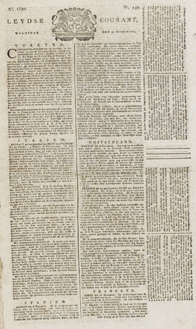 Leydse Courant 1820-11-22