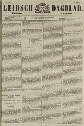 Leidsch Dagblad 1870-08-04