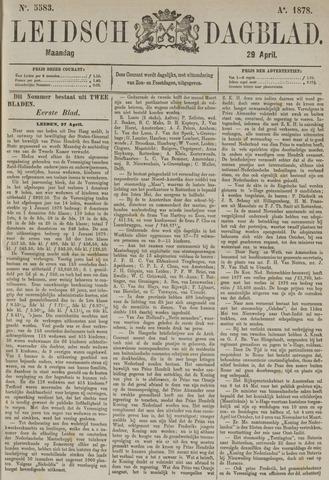 Leidsch Dagblad 1878-04-29