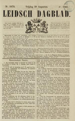 Leidsch Dagblad 1863-08-28