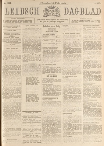 Leidsch Dagblad 1915-02-15