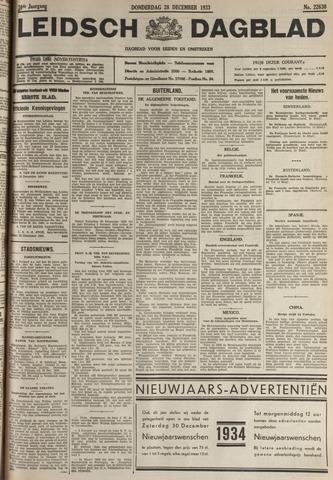 Leidsch Dagblad 1933-12-28