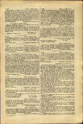 Handelingen van de Raad 1877-02-09