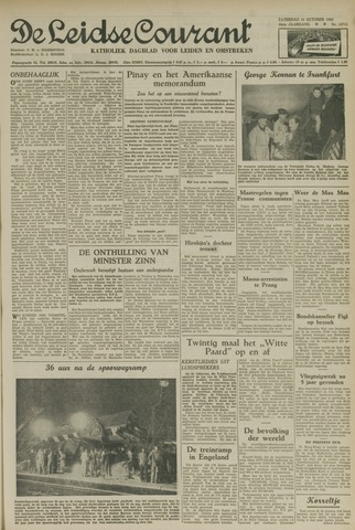 Leidse Courant 1952-10-11
