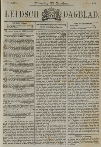 Leidsch Dagblad 1880-10-25