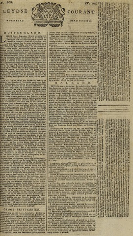 Leydse Courant 1808-08-31