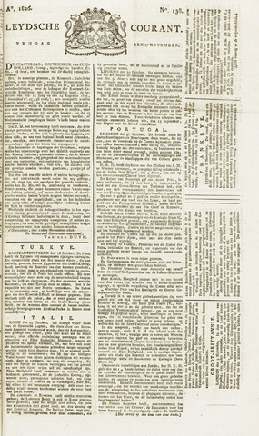 Leydse Courant 1826-11-17