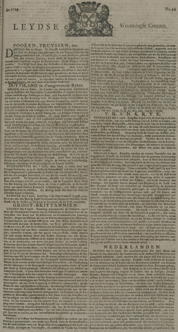 Leydse Courant 1729-04-13