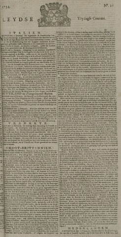 Leydse Courant 1734-02-19