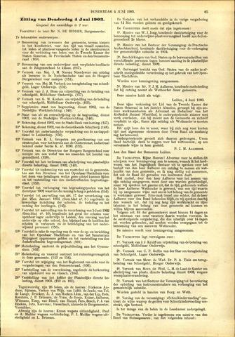Handelingen van de Raad 1903-06-04