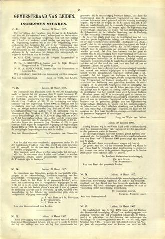 Handelingen van de Raad 1905-03-21