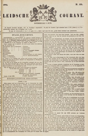 Leydse Courant 1884-06-05