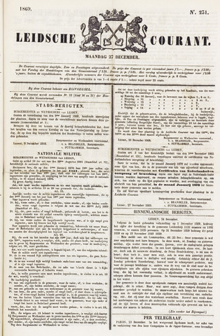 Leydse Courant 1869-12-27