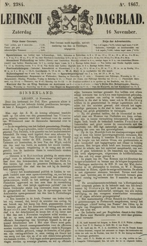 Leidsch Dagblad 1867-11-16