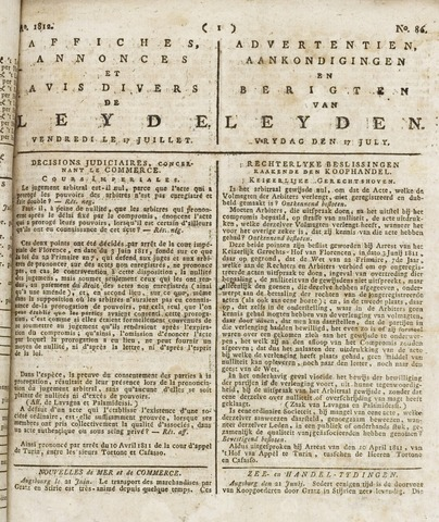 Leydse Courant 1812-07-17