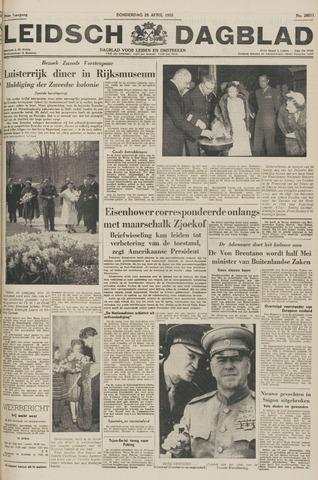 Leidsch Dagblad 1955-04-28