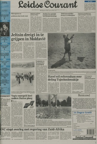 Leidse Courant 1992-06-22