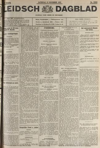 Leidsch Dagblad 1933-11-25