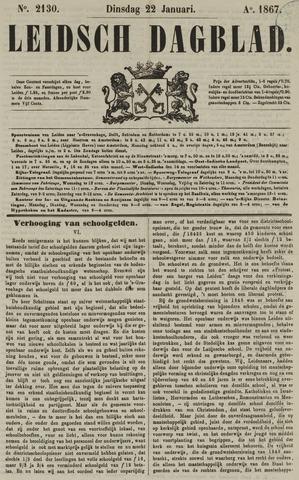 Leidsch Dagblad 1867-01-22