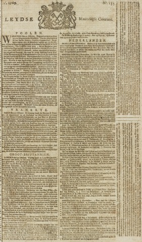 Leydse Courant 1769-11-06